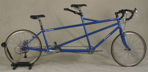 Custom Tandem Bicycle for Very Tall Captain