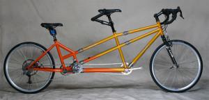 Custom Step-Through Tandem Bicycle