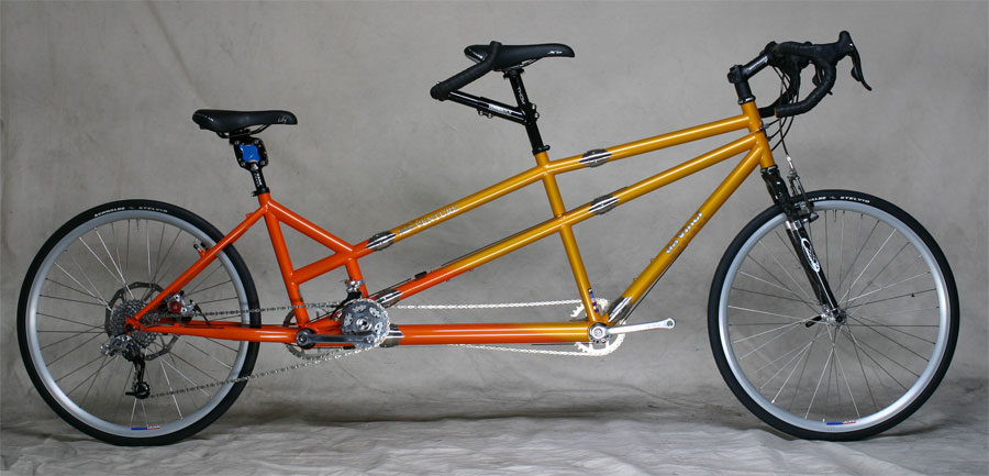 Custom Step Thru Stoker Tandem Bicycle