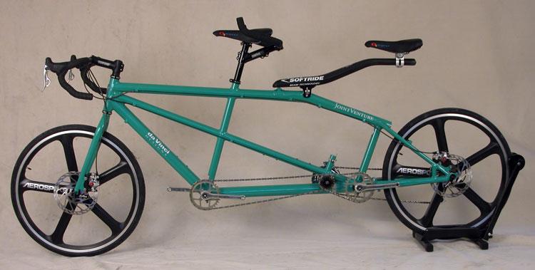 Custom Tandem Bicycle Softride Beam