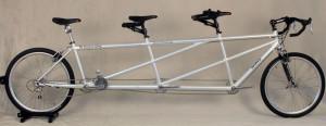 Custom triple Tandem Bicycle