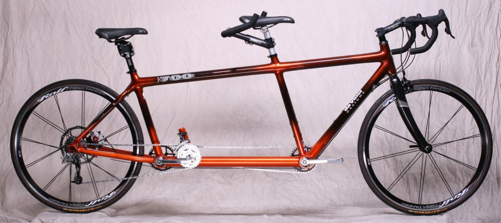 da Vinci Designs Tandem Bicycle - Carbon Fiber Joint Venture