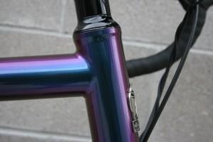 Titanium Symphony da Vinci Designs tandem bicycle w/ Cane Creek 110 ZS44 headset