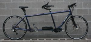 Electric Assist Tandem with Shimano Steps E8000 Drive