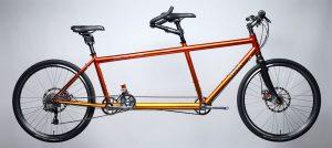 da Vinci Joint AdVenture Tangelo & Sunrise tandem bike with independent coasting cranks