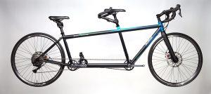da Vinci Joint Venture tandem custom matt black paint