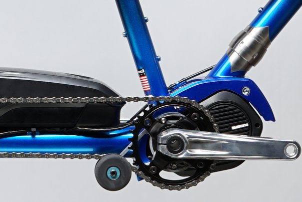 Tailwind Electric assist Steps E800 close-up